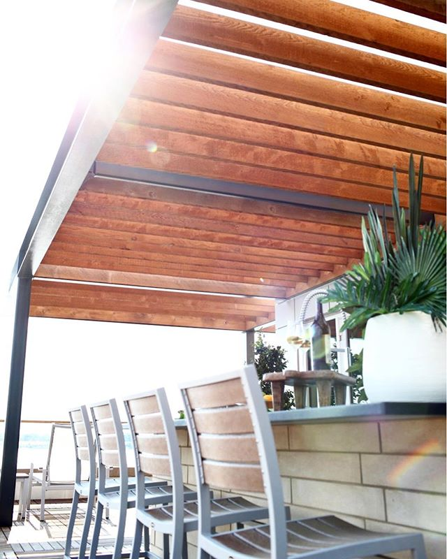 Hey y'all, remember when the sun used to shine? Enjoy this view instead. . . . . . #thedesignstudiola #interiordesign #exteriordesign #outdoorkitchen #mississippiriverview #downtownbatonrouge #luxurylifestyle #residentialdesign #tsgbatonrouge #custominteriors #interiorarchitecture #rooftopterrace #batonrouge