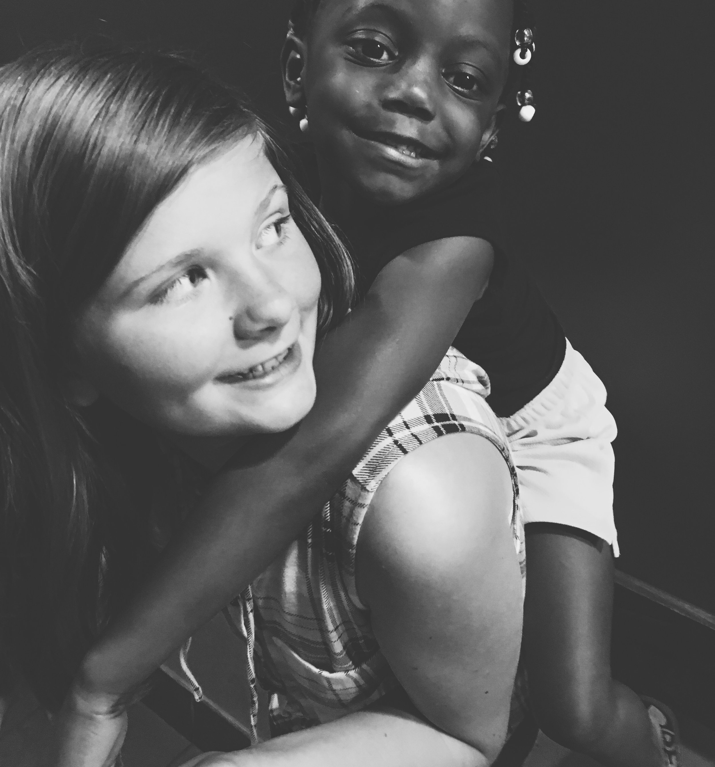 Cousins joined through foster care & adoption.