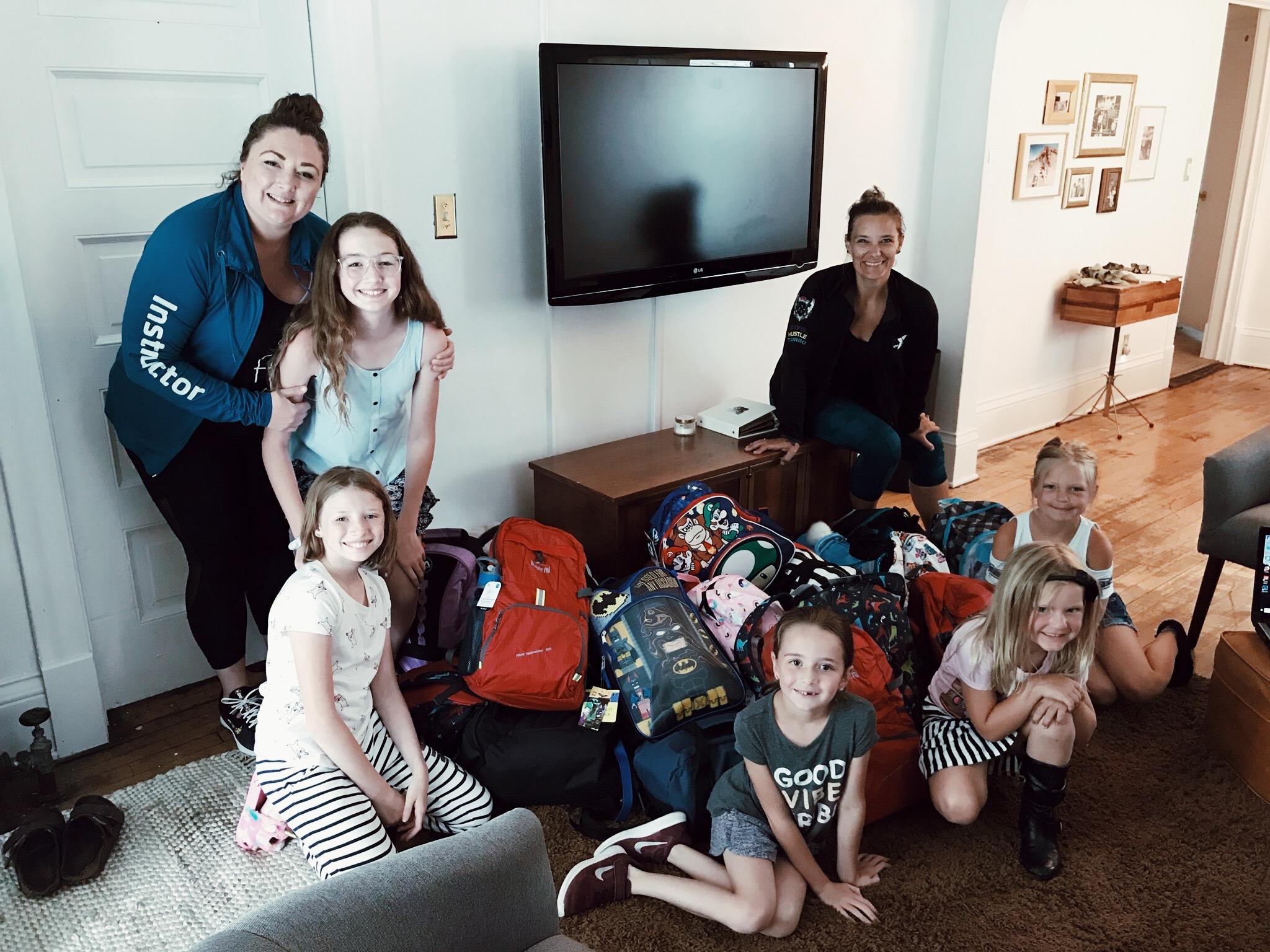 Jeni Svestka & the Burnsville YMCA collected 21 bags! June 2019.
