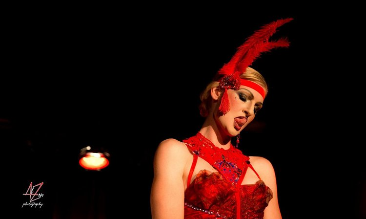 Photo of The Lady Josephine by Alain Lauzon from a Red Light Burlesque Production