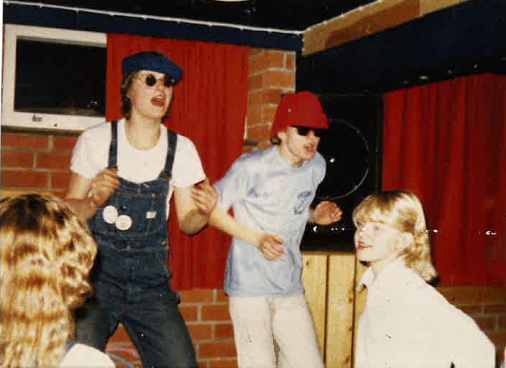 Rukalla 1979 Dj Mikken kanssa.