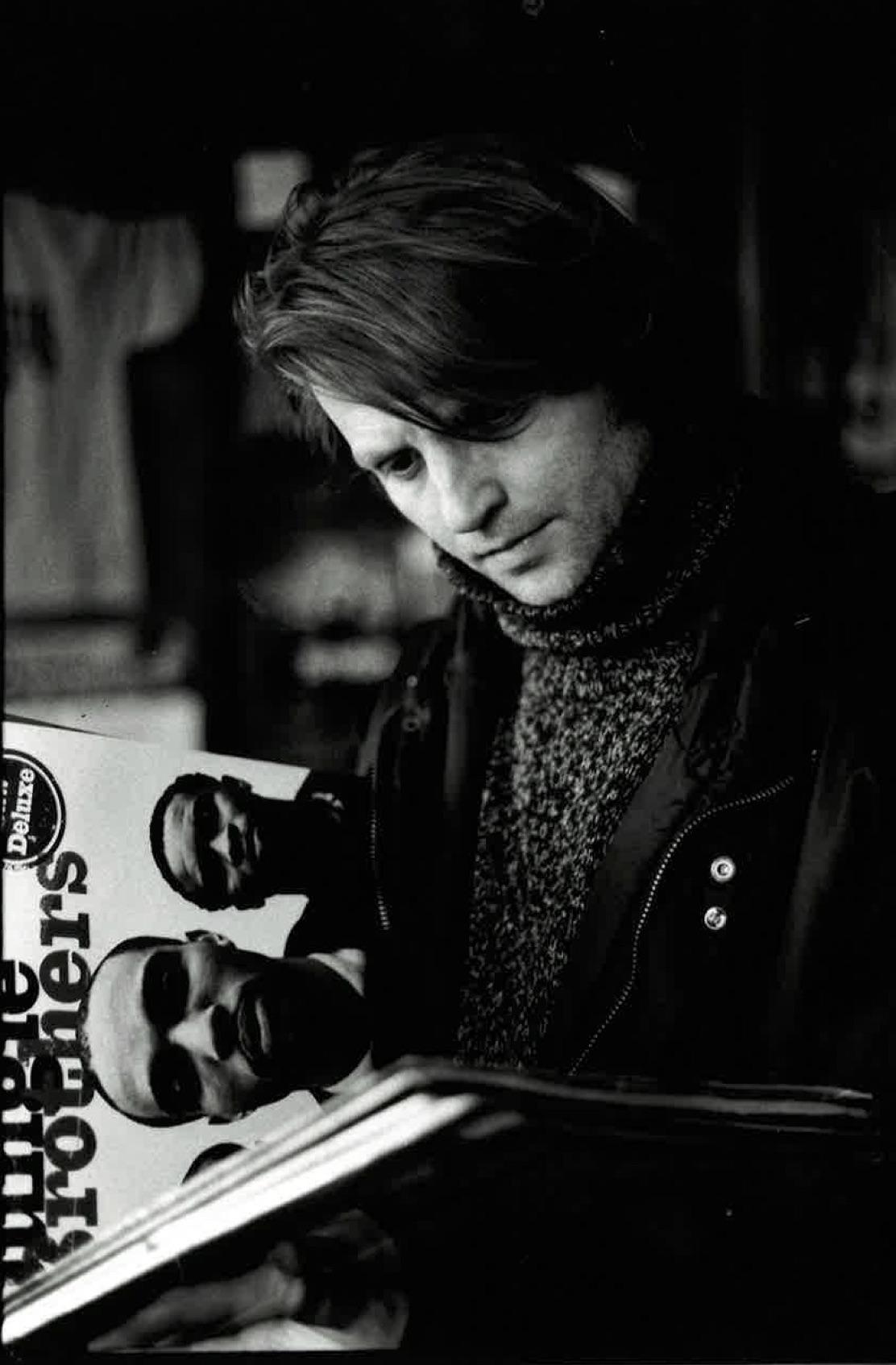 Spinefarm levykaupassa Fredrikinkadulla 1997.  Kuva: Sonja Linden
