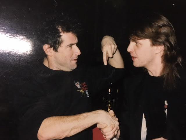 Johnny Clegg Café Metropol 1980-luku.