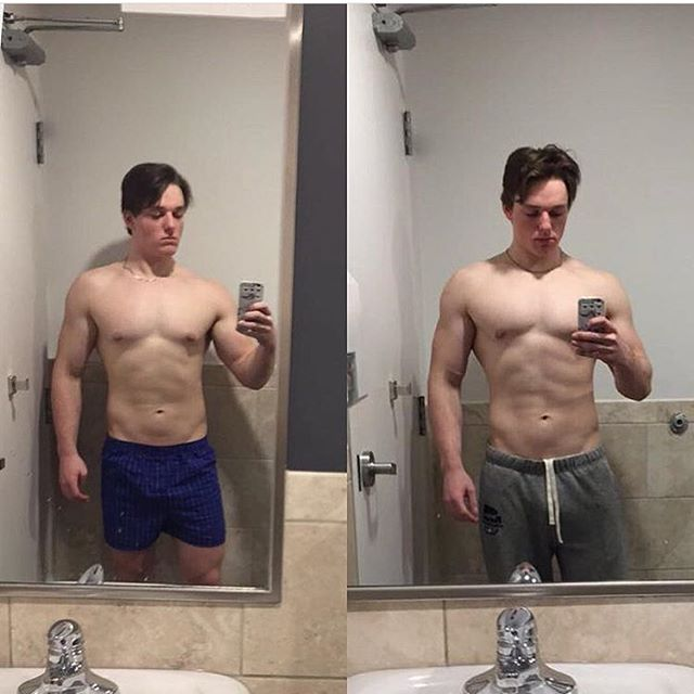 Only 7 days into program and @carson.plaisier is definitely on the right track! Stay tuned to see his progress! 💪🏼