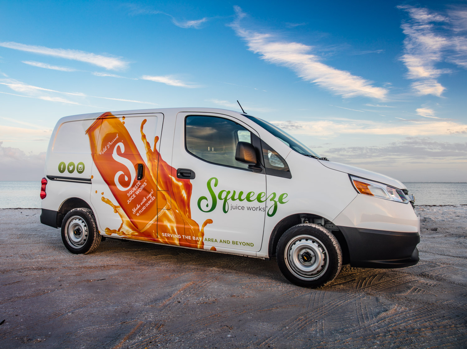 Van wraps are moving billboards for your business. TBC can create engaging graphics that will turn heads.