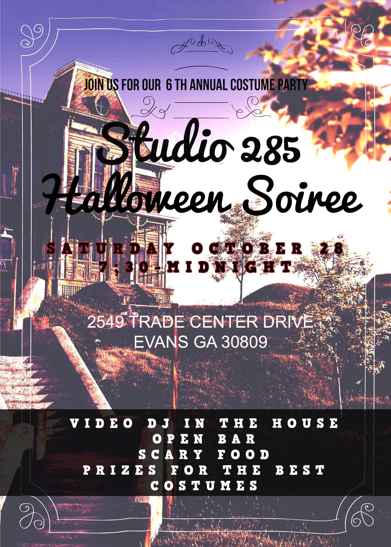 Studio 285 Halloween Party 2017