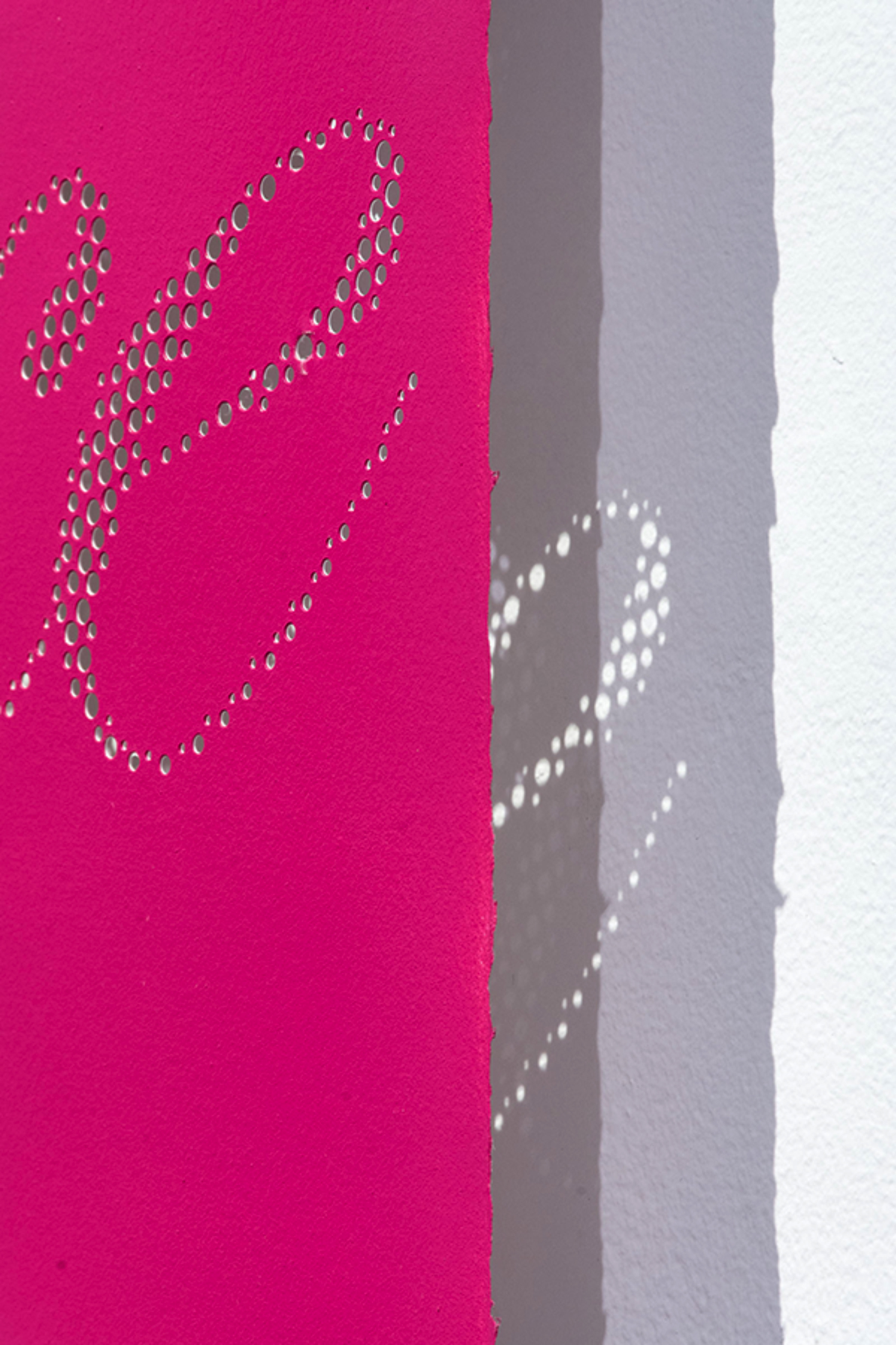 """detail, Big Mistake , hand hole-punched paper, 30"""" x 44"""", 2013"""