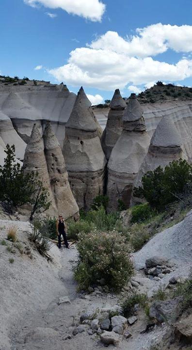 Kasha-Katuwe Tent Rocks National Monument felt like a trip to the moon!
