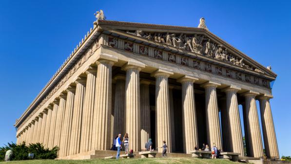 IMAGE: Parthenon in IMAGE: Centennial Park, Nashville, Tennessee. Copyright 2010 Michael Hicks