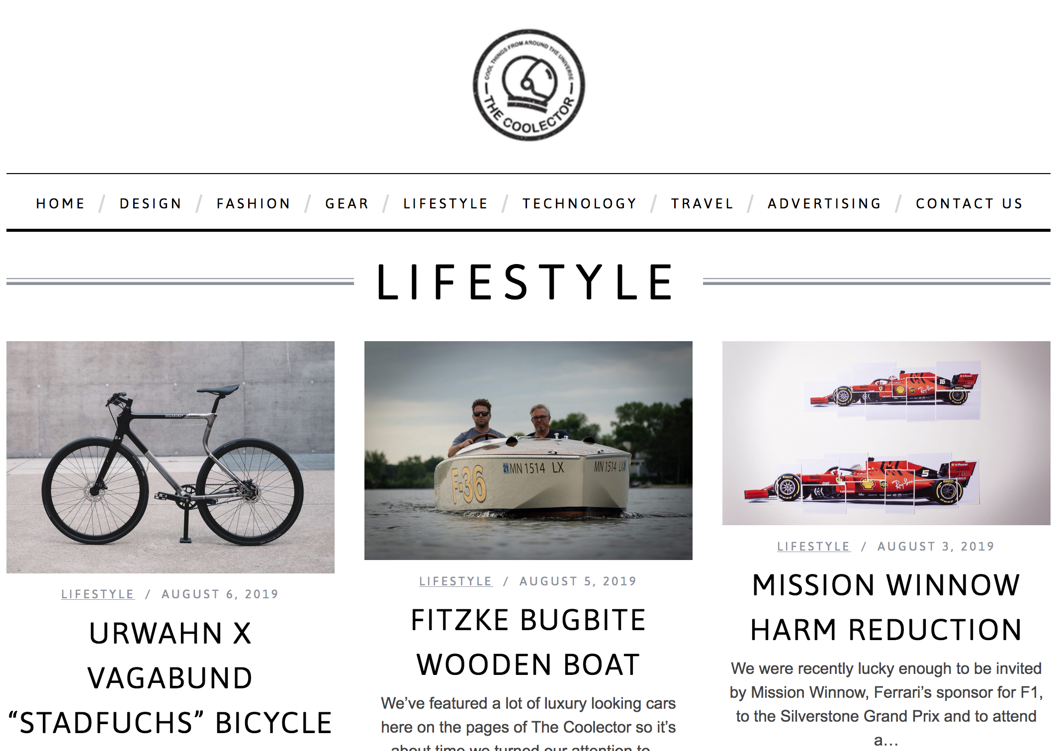 Featured Product - The Coolector lifestyle product blog