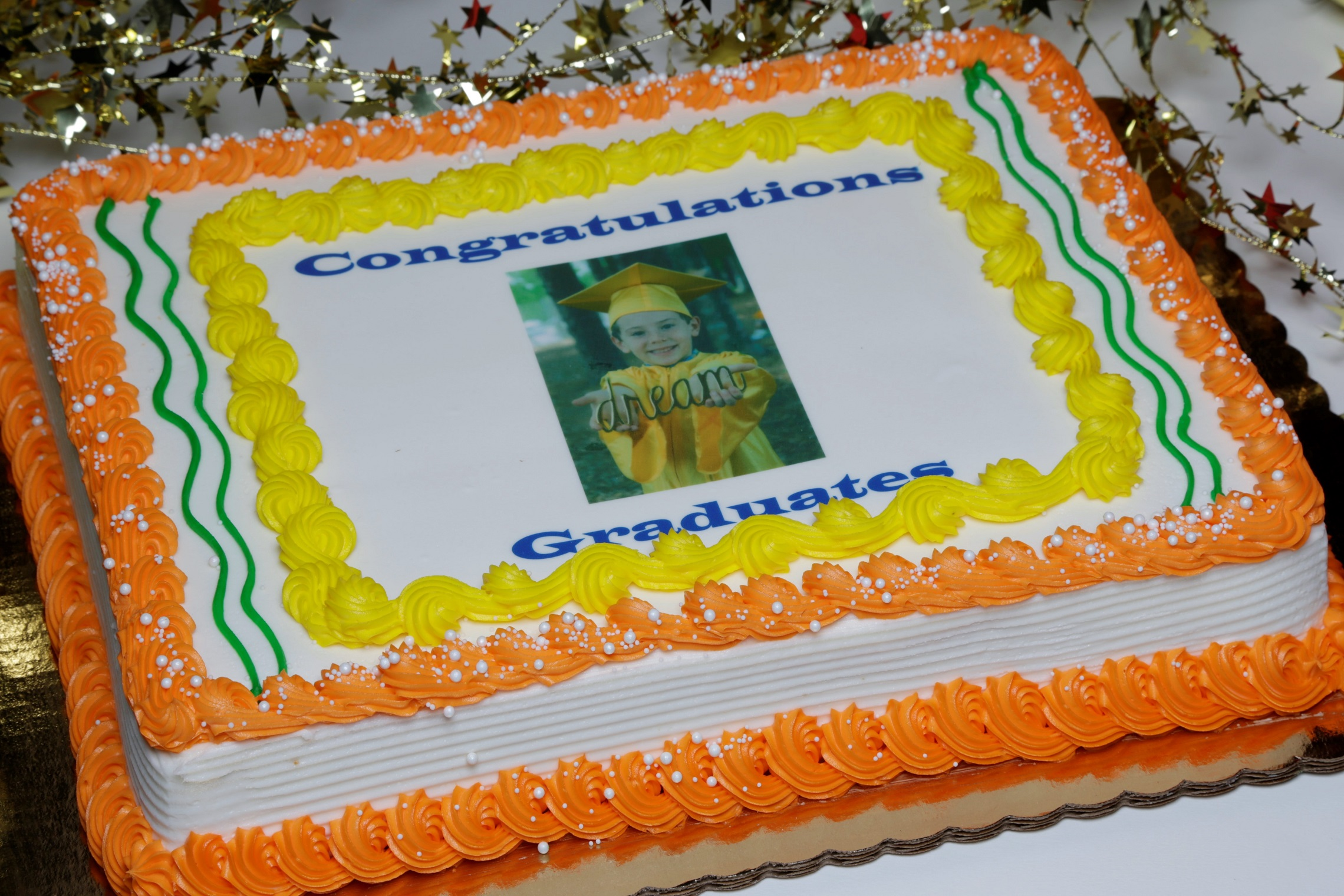 Contact us to order your custom photo cake!
