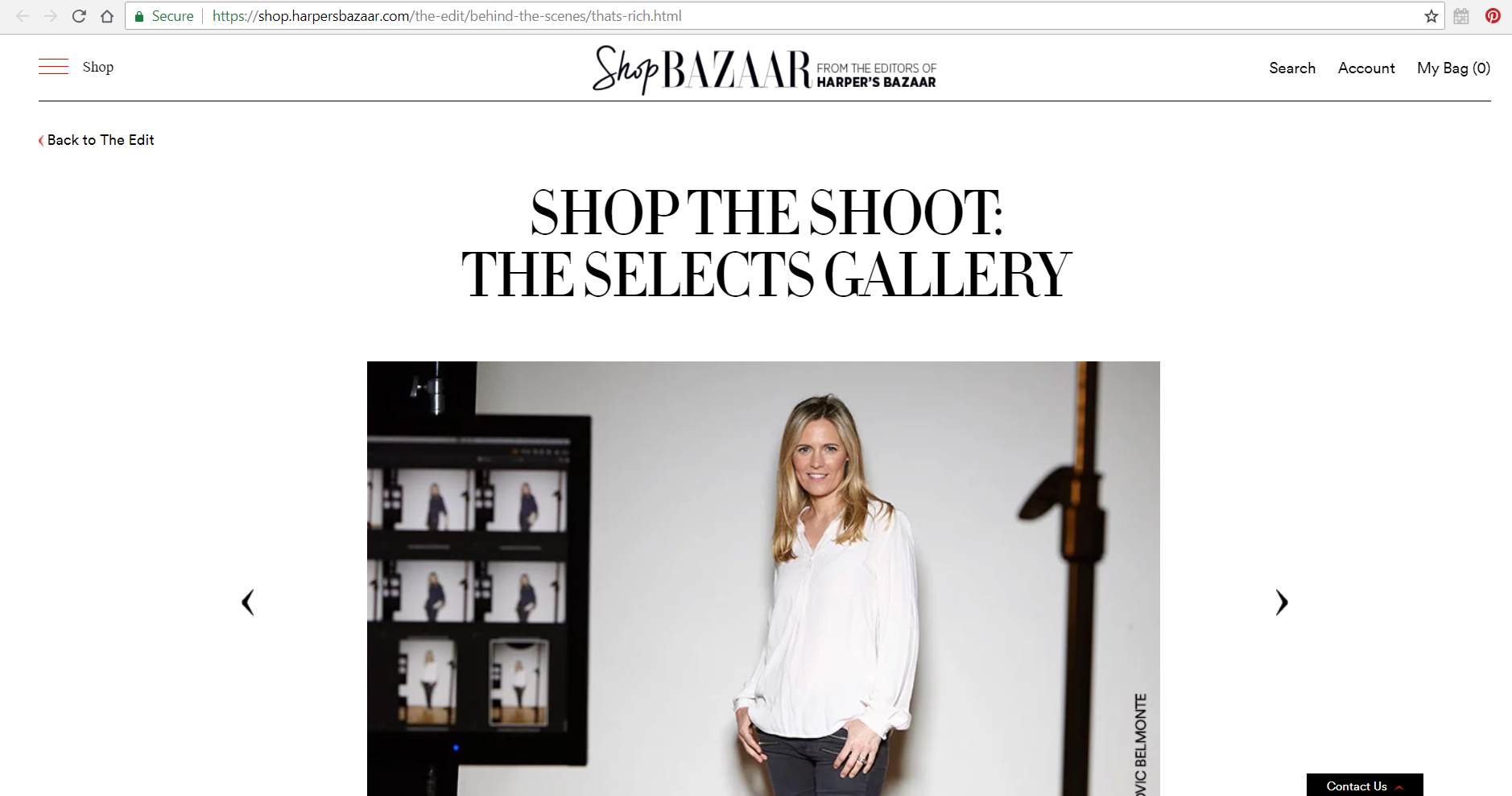 """Recognizing editorial photography as true works of art, Harper's  BAZAAR , YSL Beauté Global Beauty Director Tom Pecheux, and photographer Kenneth Willardt collaborated with The Selects Gallery founder Marie Audier D'Alessandris to breathe second life into the """"   That's Rich   """" shoot from our September Issue with framed, limited-edition signed prints for sale.   ShopBAZAAR talks to D'Alessandris about the pieces and how art can enhance your space and life.    Read the full interview at  https://shop.harpersbazaar.com/the-edit/behind-the-scenes/thats-rich.html"""