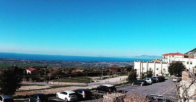 La terronia bella #capaccio #costieraamalfitana #capri  #sea #fromthemountain #sun #terronia #sud