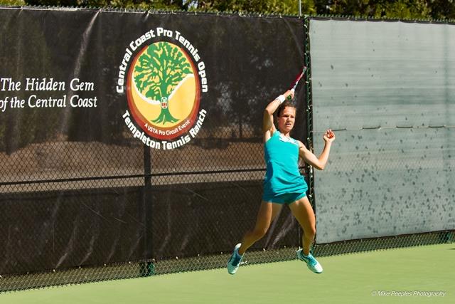 Victorija fires another crushing shot at Templeton Tennis Ranch