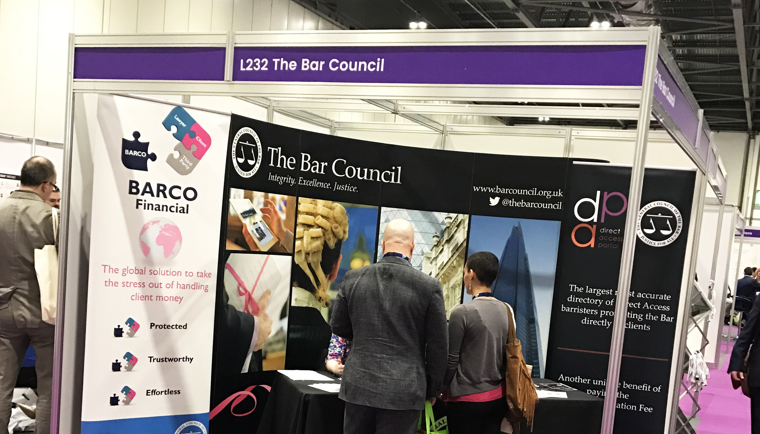 BARCO is promoted at the LegalEx exhibition