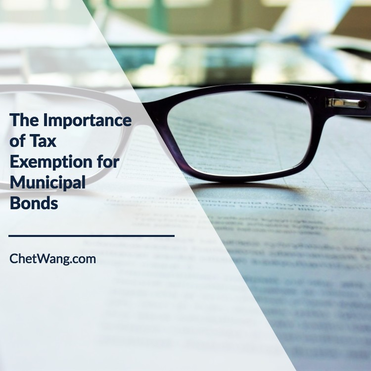 The Importance of Tax Exemption for Municipal Bonds