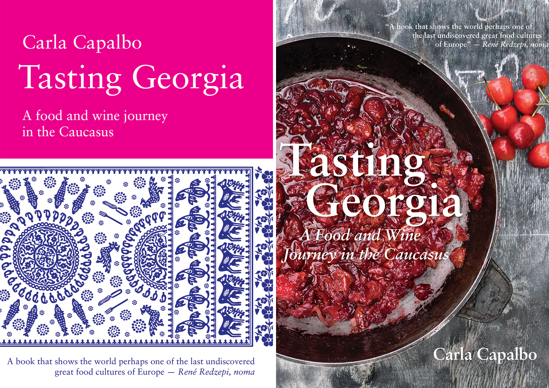 One book, two covers: UK (left) and USA (right: out in September)