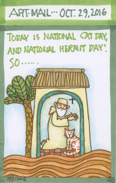 Cat Hermit 2016