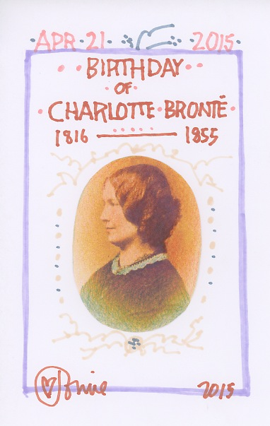Charlotte Bronte 2015