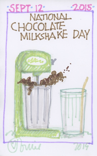 Chocolate Milkshake 2015
