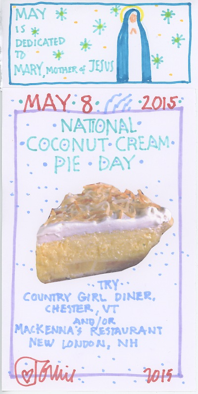 Coconut Cream Pie 2015