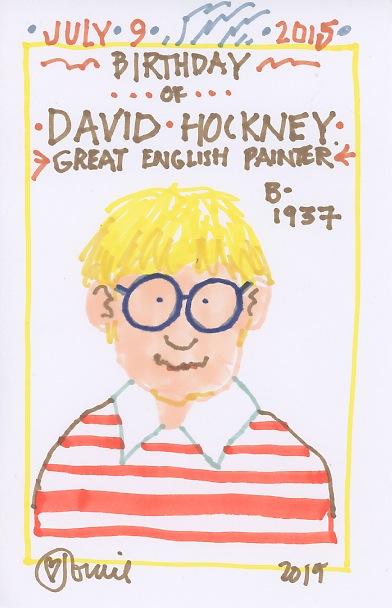 David Hockney 2015