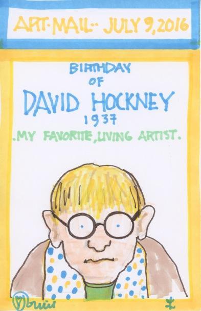 David Hockney 2016