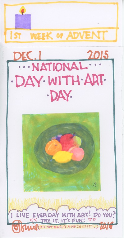 Day with Art 2015