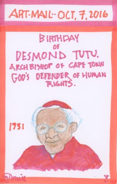 Desmond Tutu 2016