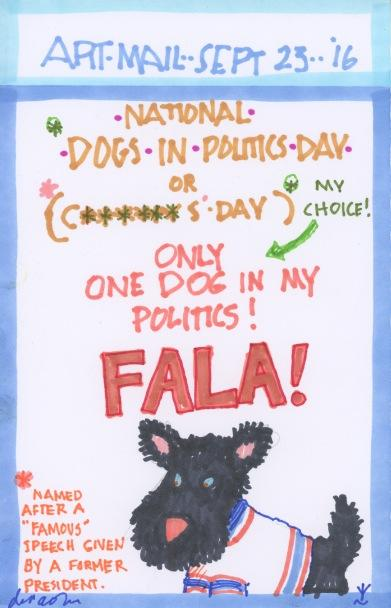 Dog in Politics 2016