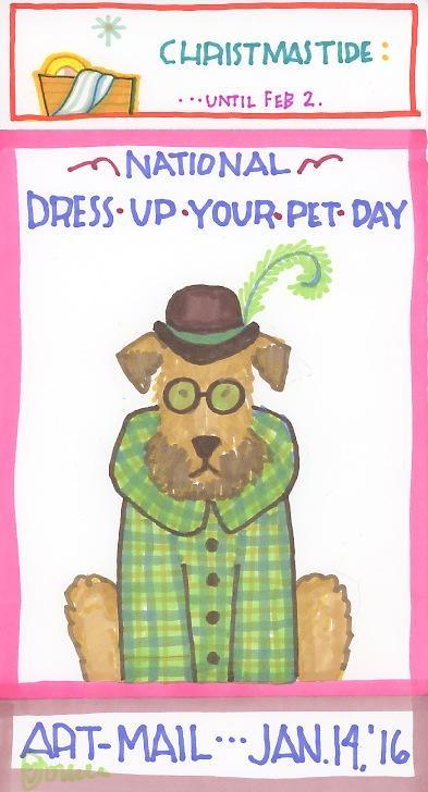 Dress Up Your Pet 2016