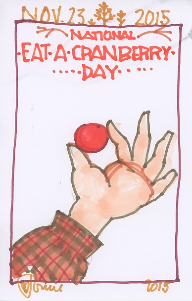 Eat a Cranberry 2015