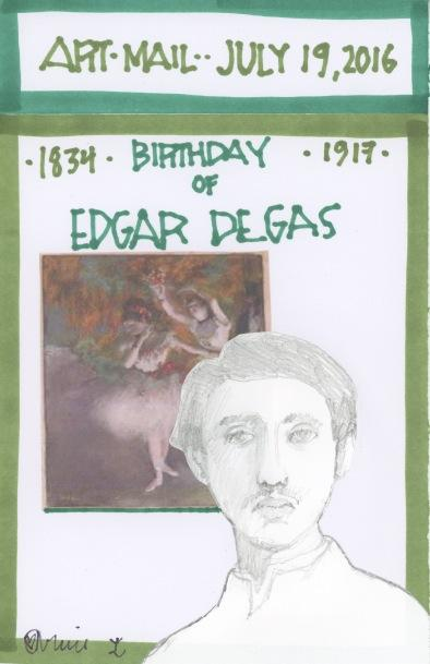 Edgar Degas 2016