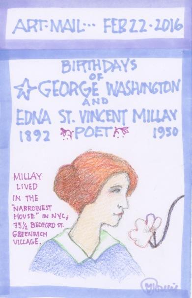 Edna St. Vincent Millay 2016