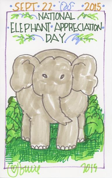 Elephant Appreciation 2015