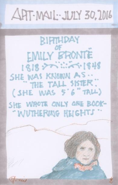 Emily Bronte 2016
