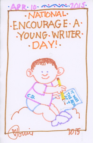 Encourage a Young Writer 2015