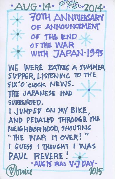 End of Japan War 2015