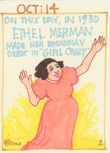 Ethel Merman Girl Crazy 2017