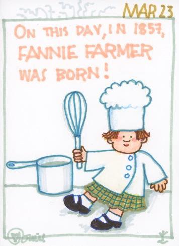 Fannie Farmer 2017