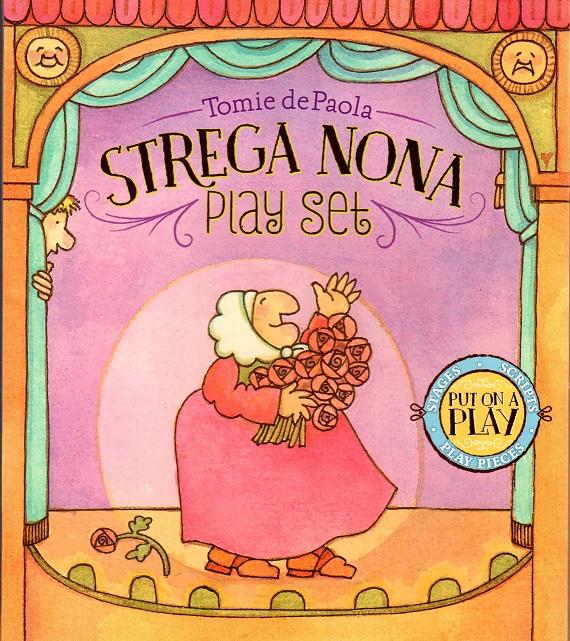 Strega Nona Play Set