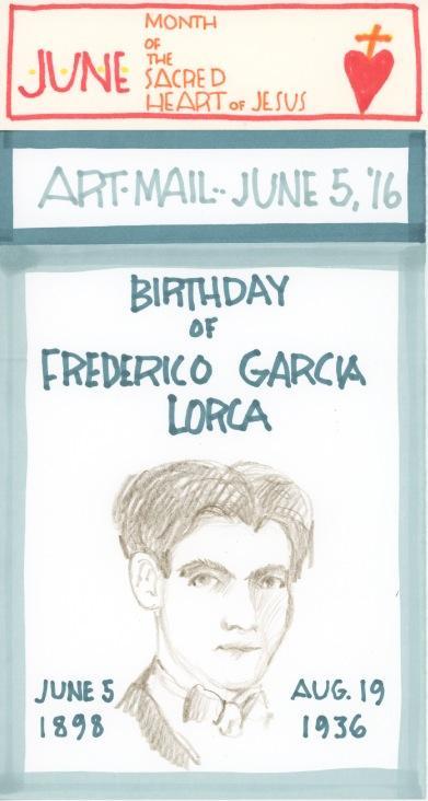 Federico Garcia Lorca 2016