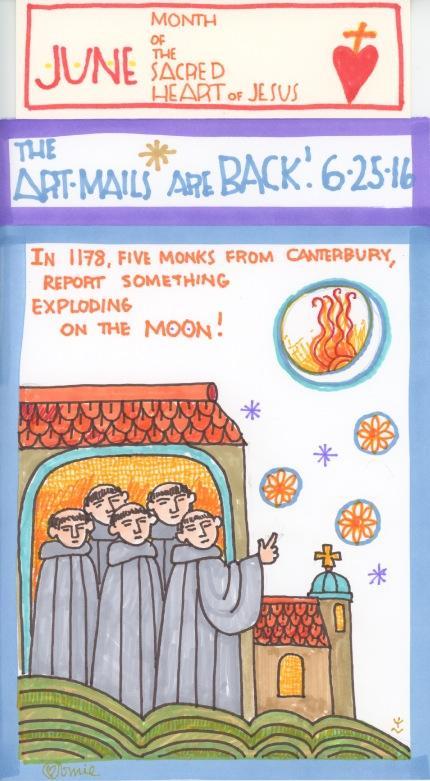 Five Monks in 1178 2016