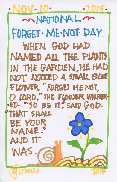 Forget Me Not 2015