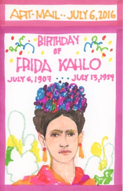Frida Kahlo 2016
