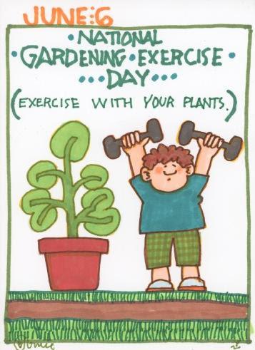 Gardening Exercise 2017