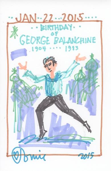 George Balanchine 2015