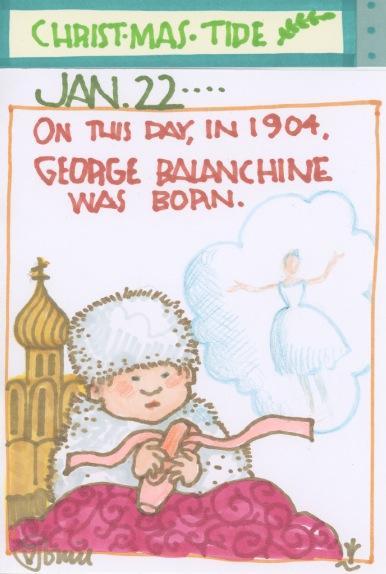George Balanchine 2017