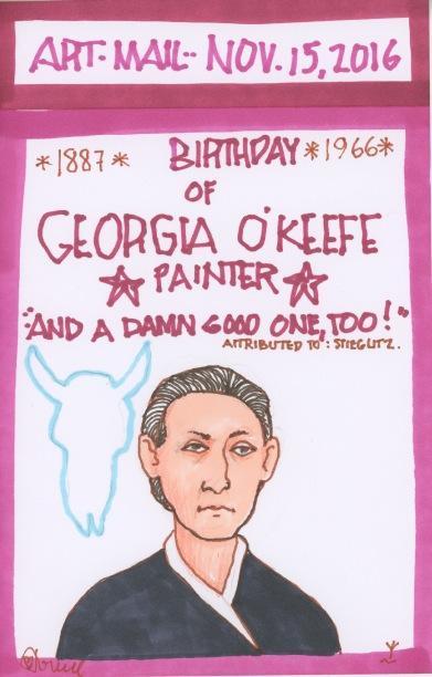 Georgia O'Keeffe 2016