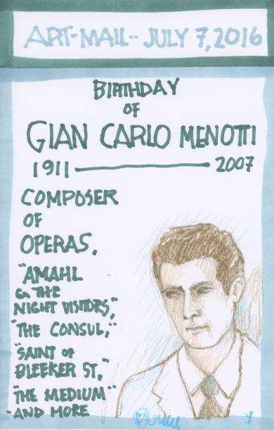 Gian Carlo Menotti 2016